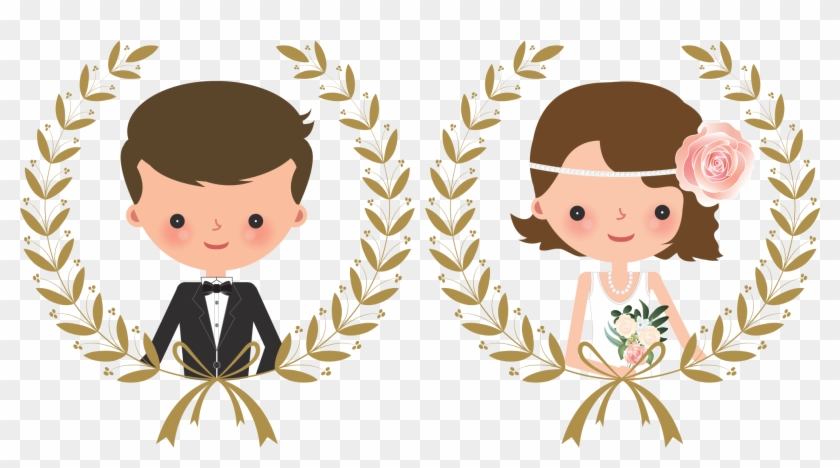 Download - Wedding Couple Clipart Png Transparent Png #212460