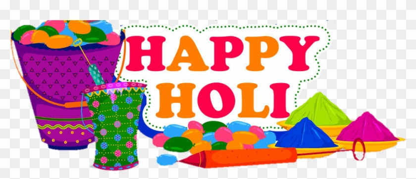 Happy Holi India - Happy Holi Name Clipart #214028