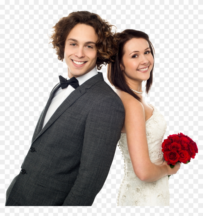 Wedding Couple - Wedding Couple Png, Transparent Png #214292