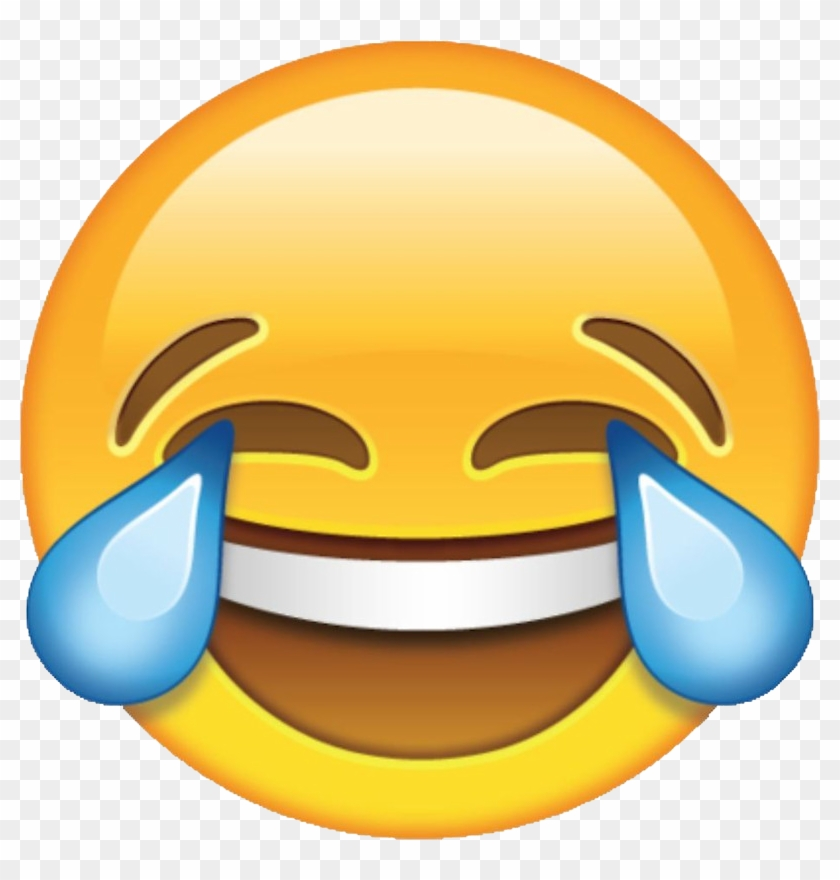 Laughter Face With Tears Of Joy Emoji - Laughing Emoji Clipart #215655