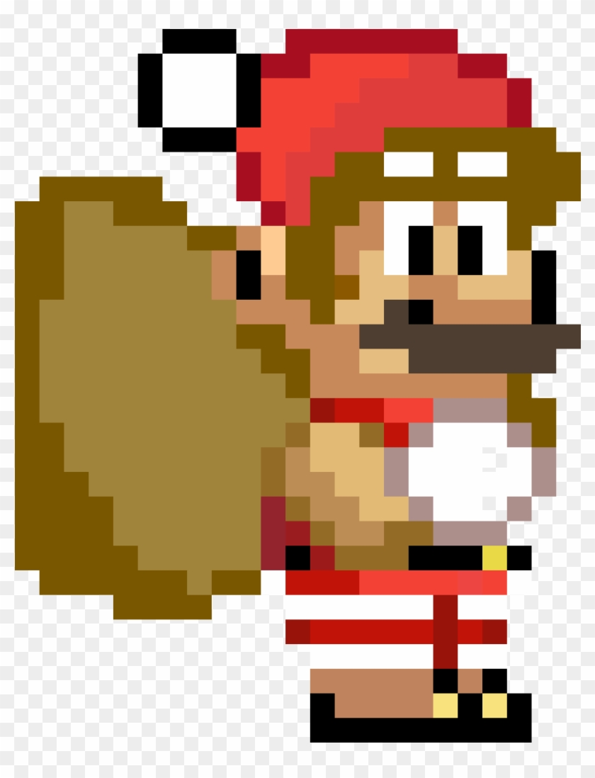 Christmas Mario Custom Emoji Super Mario Odyssey Sprite