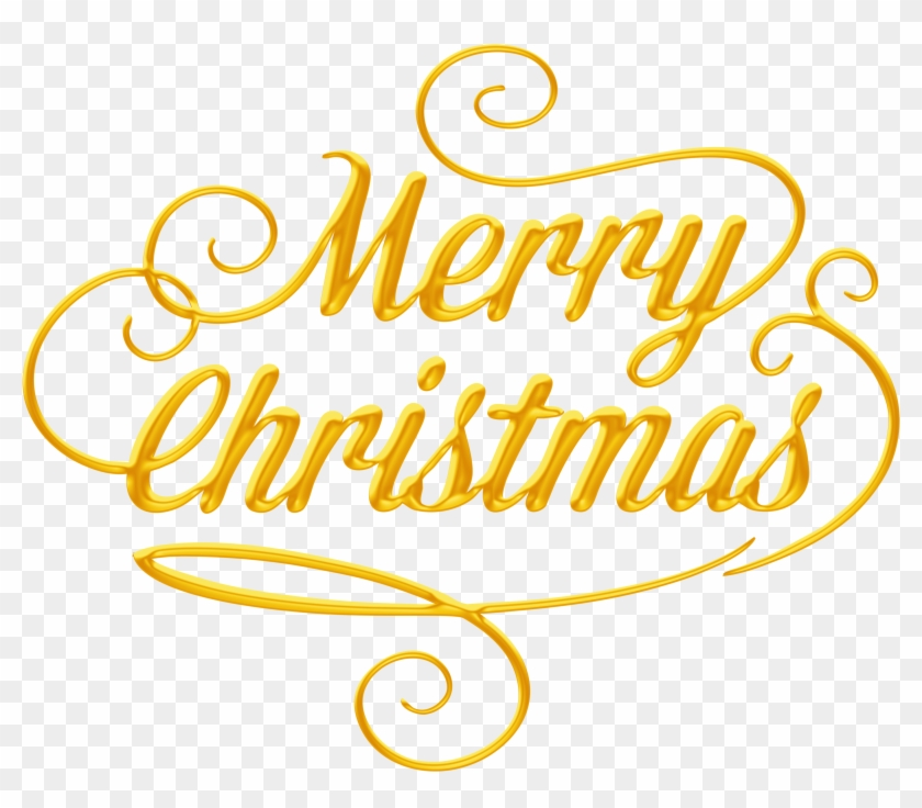 merry christmas text transparent png