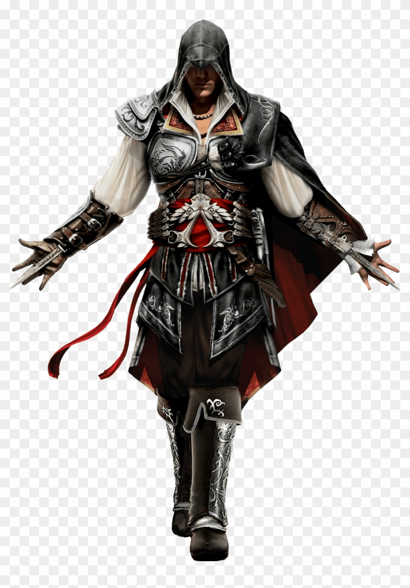 Assassins Creed Standing Front Assassin S Creed 2 Ezio Armor