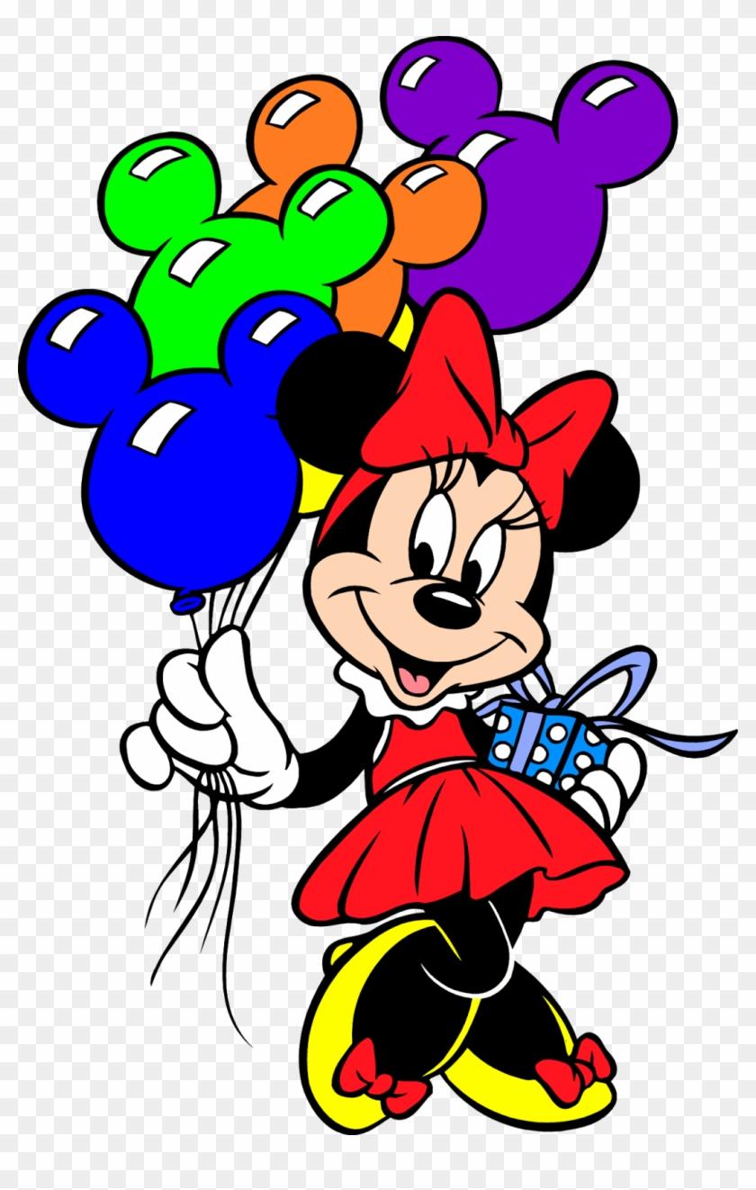 Sgblogosfera Mar A Jos - Minnie Mouse Con Globos Clipart #2106640