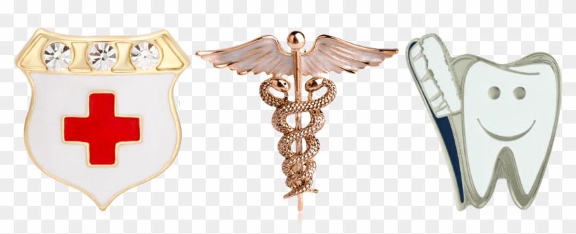 Custom Lapel Pins Landing Page Medical - Brooch Clipart #2114280