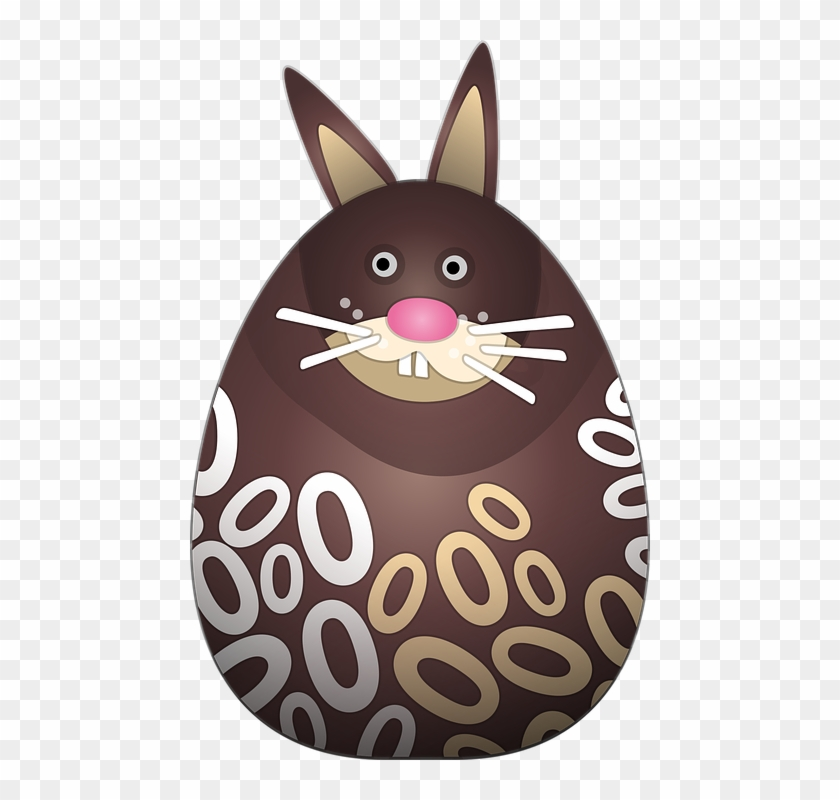 Chocolate Bunny P - Chocolate De Pascoa Png Clipart #2115639