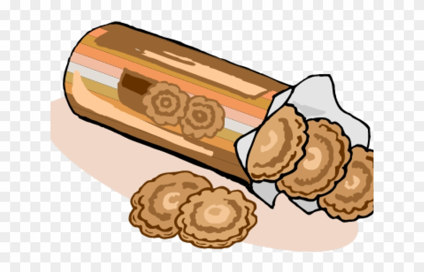 Cracker Clipart Packet Biscuit - Packet Of Biscuits - Png Download #2115915