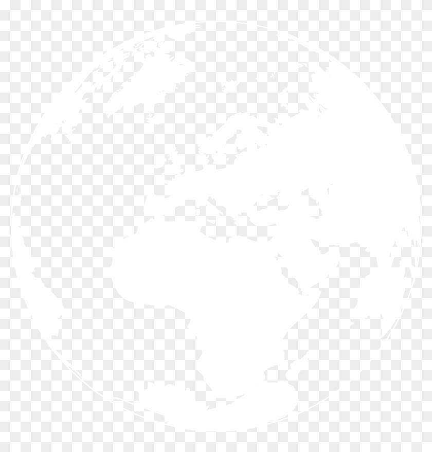 Areas Of Impact - World Map Blank No Borders Clipart@pikpng.com