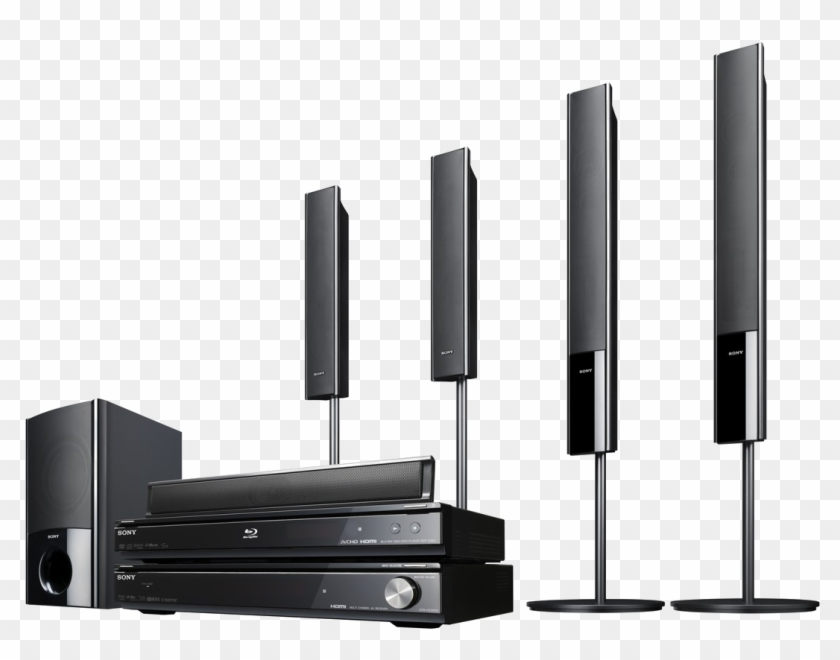 Home Theater System Png Transparent Picture Sony Home Theatre 5 1 Tower Speakers Clipart 2119904 Pikpng