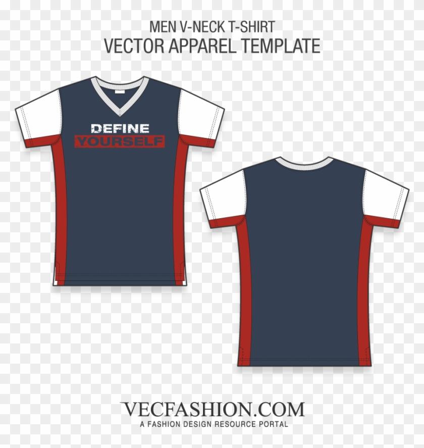 1000 X 1000 7 - V Neck Baseball Jersey Template Clipart #2135187