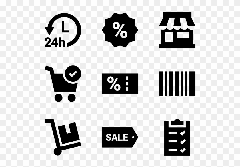 Shopping Elements - Date Time Venue Icon Clipart #2143075