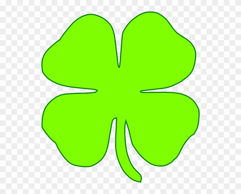 shamrock light green png  kleeblatt 4 blätter clipart