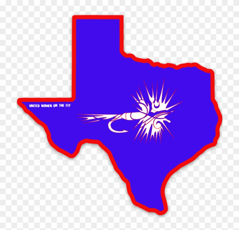 Uwotf Texas State Sticker - Emblem Clipart #2153630