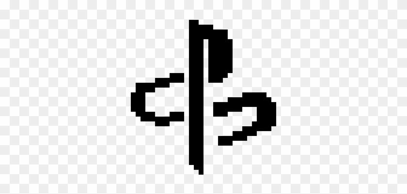 Excelent Playstation Logo - Pixel Art Logo Playstation Clipart #2156464