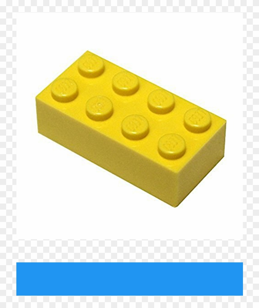 Lego Parts And Pieces - Lego 2 X 4 Brick Yellow Clipart #2160648