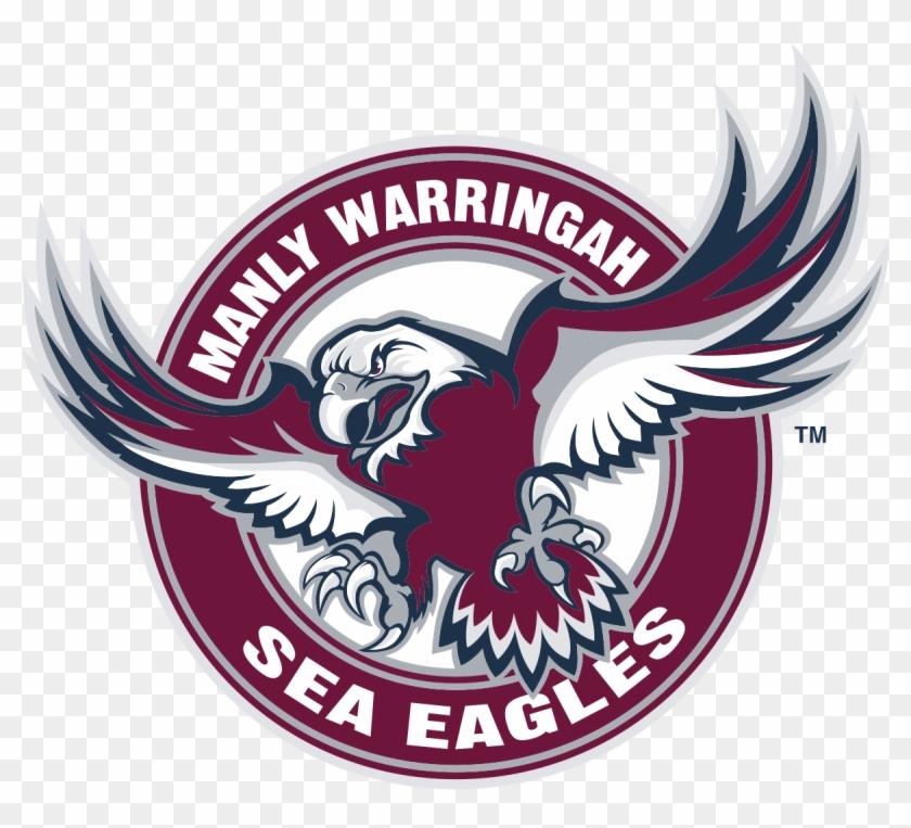 Eagle Svg Colour - Manly Warringah Sea Eagles Logo Clipart@pikpng.com