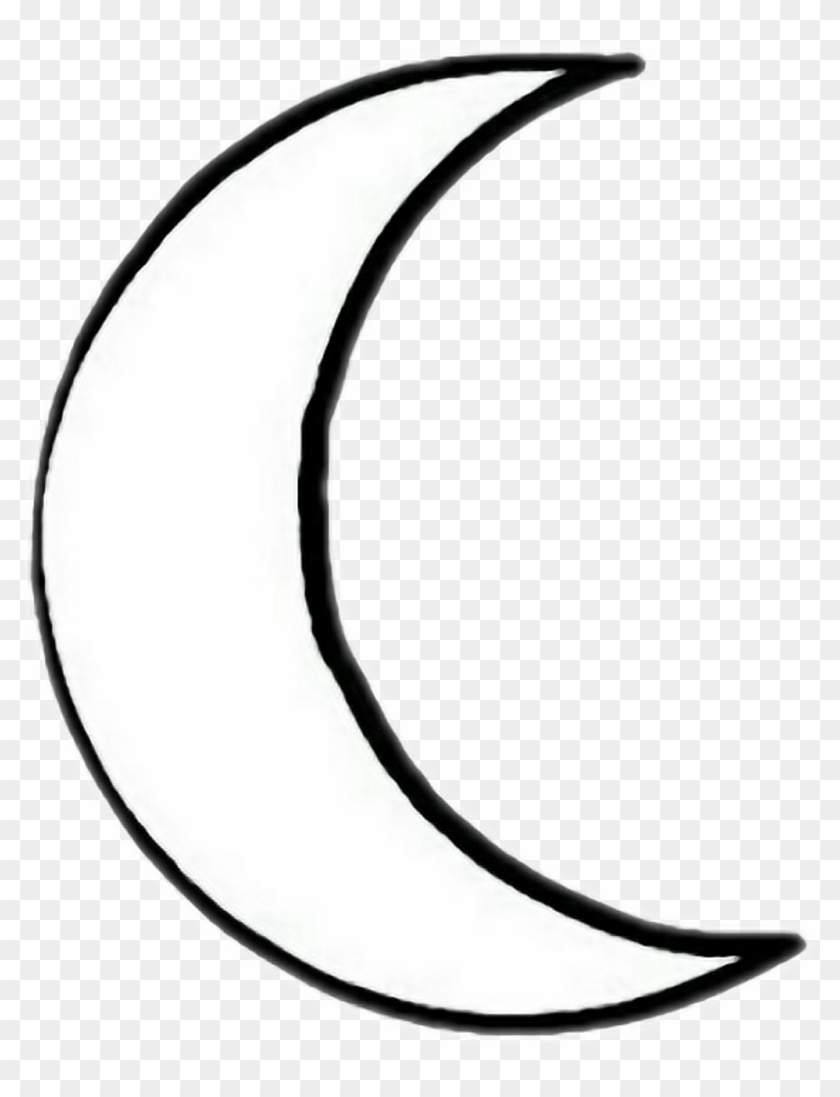 Crescent Moon Clipart Png - Moon Vector Transparent Png (#44630) -  PinClipart
