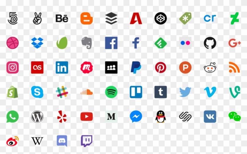 Sociala Medier Och Den Personliga Integriteten &197lands - Social Media Icons Clipart #2166283