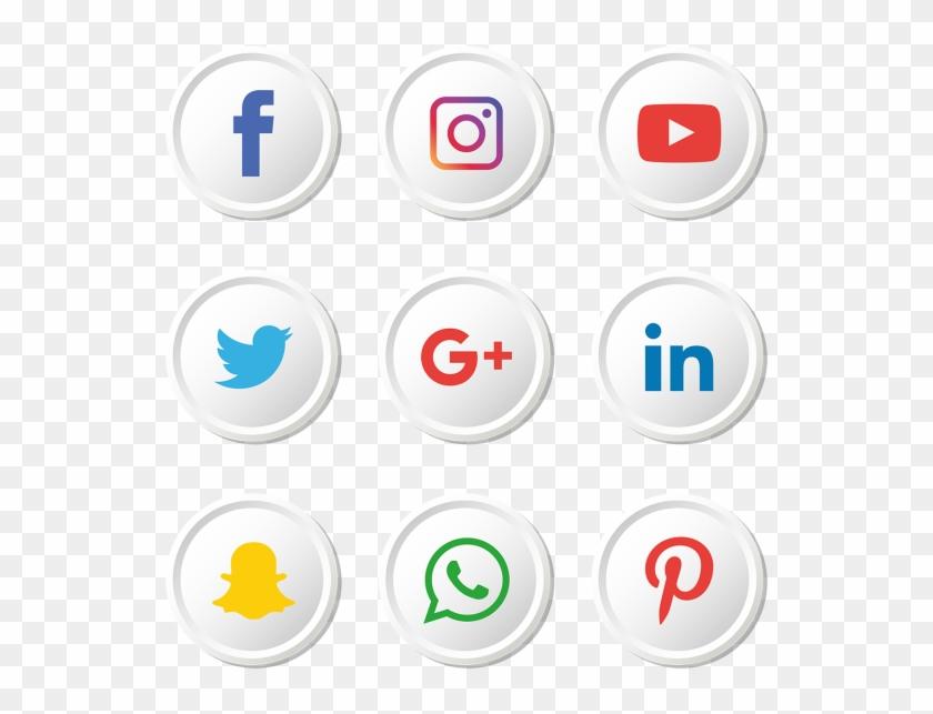 Instagram Facebook Vector Logos Clipart #2166376