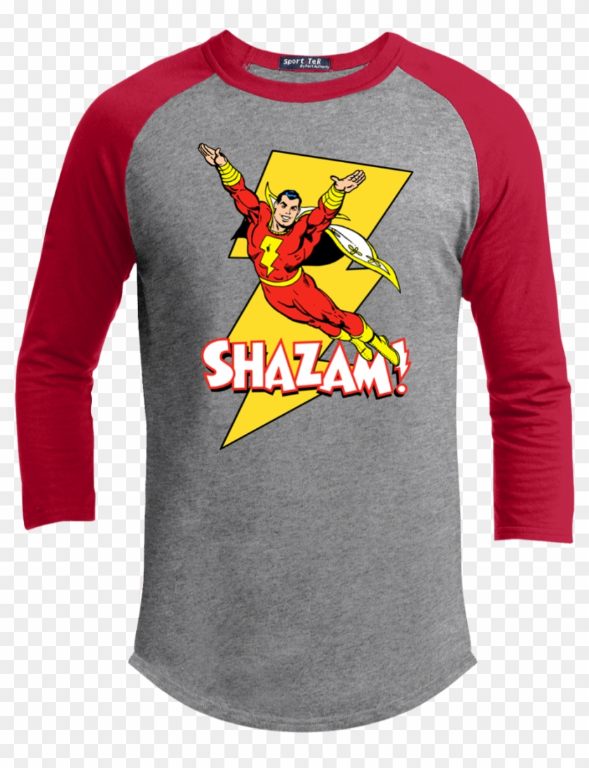 Shazam Superhero Retro Cape Superman Comic Comicon - T-shirt Clipart #2170114