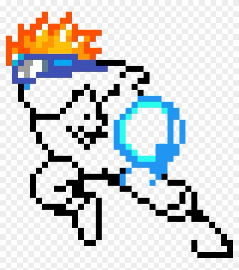 Naruto - Naruto Rasengan Pixel Art Clipart #2172667