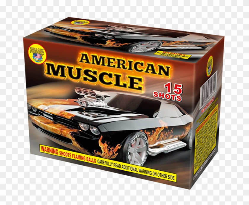 American Muscle By World-class Fireworks - American Muscle Firework, HD Png Download #2174400