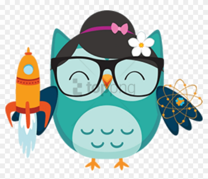 Free Png Cartoon Owls With Big Eyes Png Image With Coruja