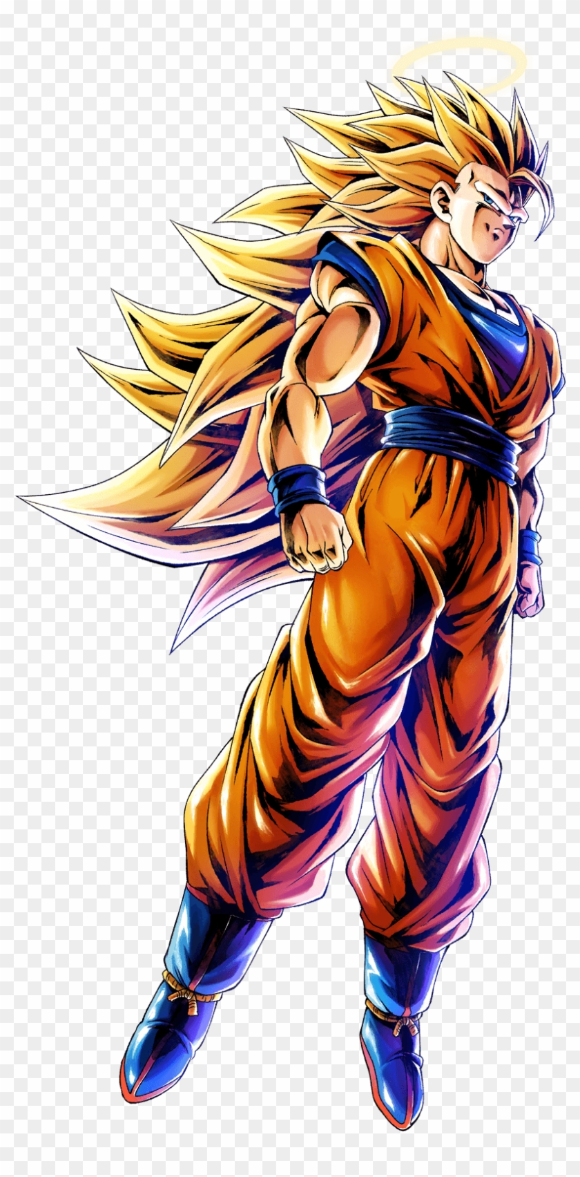 Gohan Png Dragon Ball Legends Super Saiyan 3 Goku Clipart
