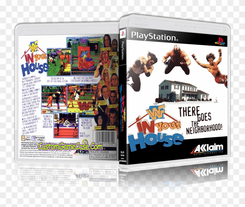 Wwf In Your House - Wwf In Your House Pc Clipart #2187036