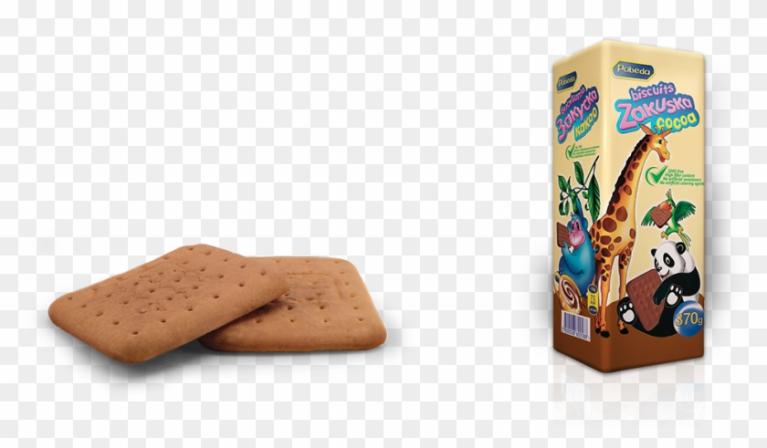 Zakuska Cocoa Biscuits 370 G Is The Largest Package - Cracker Clipart #2190937