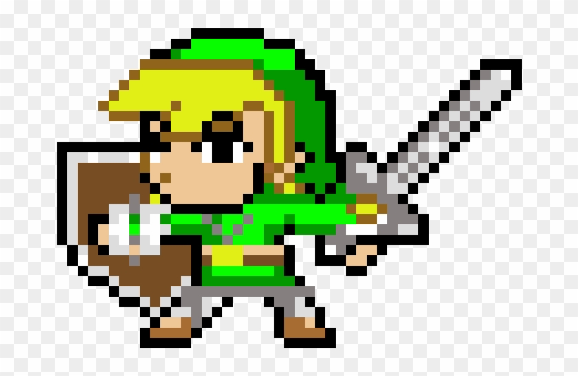 Legend Of Zelda Toon Link Pixel Art Hd Png Download