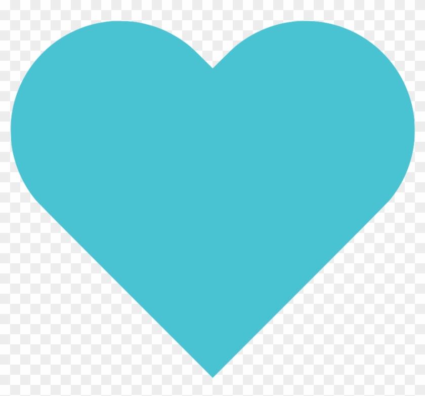 Blue Heart Png Clipart #2192916