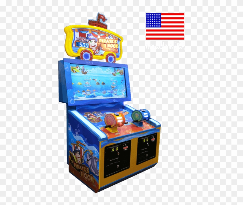 Pirate's Hook 2 Player - Pirates Hook Arcade Game For Sale Clipart #2196523