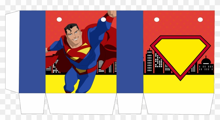 Superman Comic Free Printable Box Cajas De Superman Para