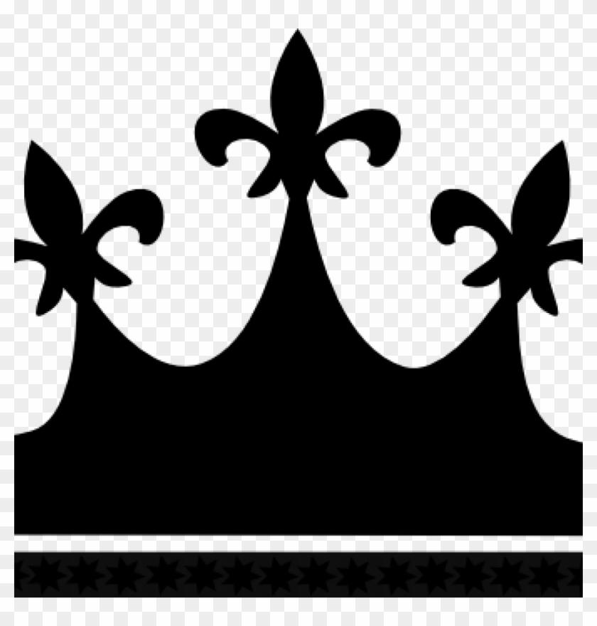 Kings Crown Clipart Kings Crown Silhouette At Getdrawings - Queen Crown Black Png Transparent Png #224923