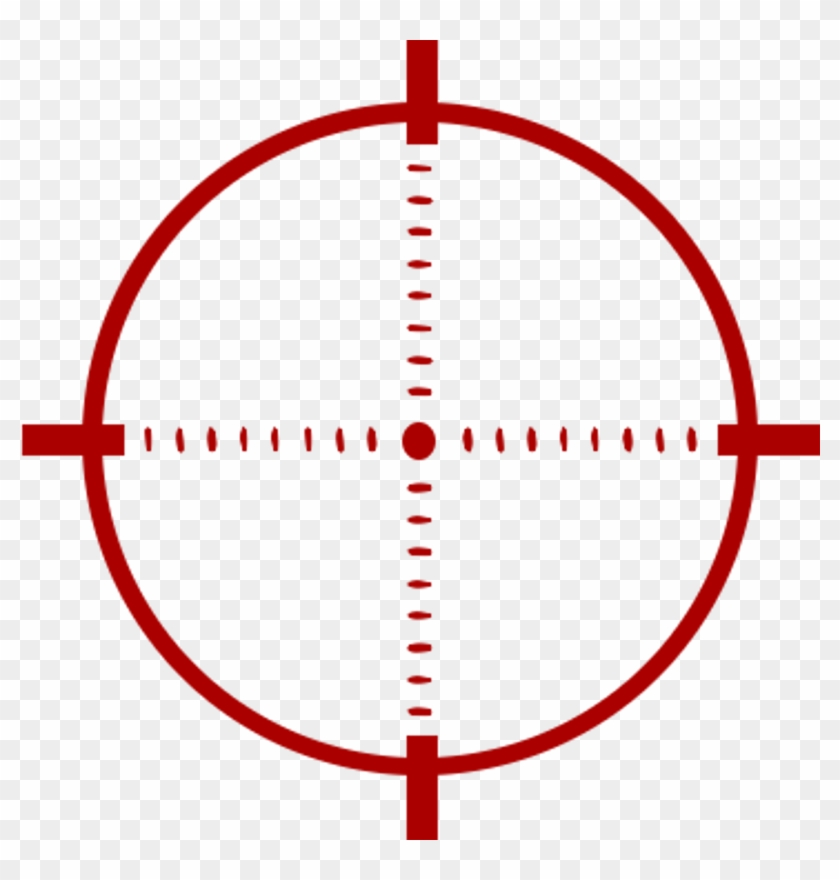 Scopes Download Png Image - Target Reticle No Background, Transparent Png #225082
