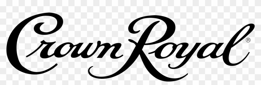 Crown Royal Clipart Silhouette - Crown Royal Vanilla Logo - Png Download #225157