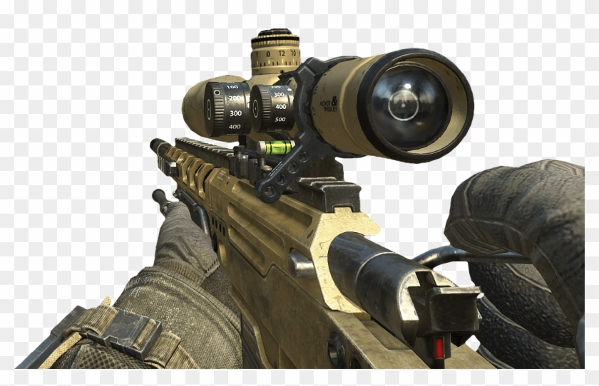Png Free The Best Gun To Quickscope With In - Sniper Black Ops 2 Clipart #225309