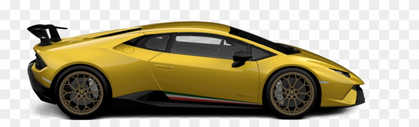 Lamborghini Huracan Performante Side Clipart 2204445 Pikpng