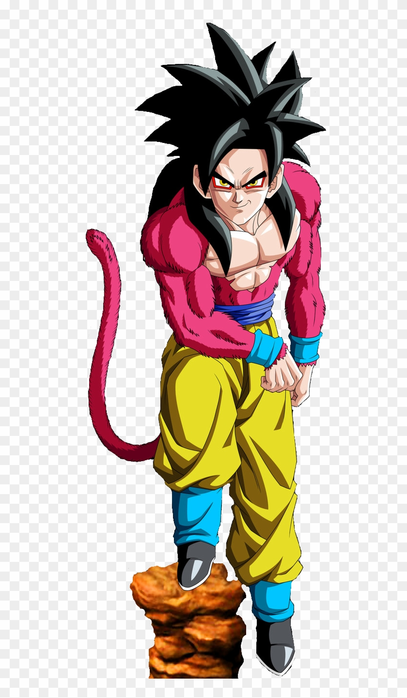 Goku Clipart File - Dragon Ball Z Gt Goku Transformations - Png Download #2209419
