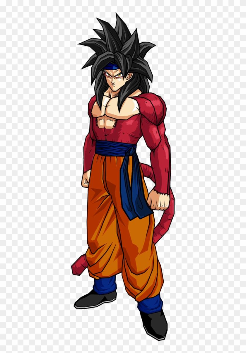 Dragon Ball Super Goku Ssj4 Clipart #2211702