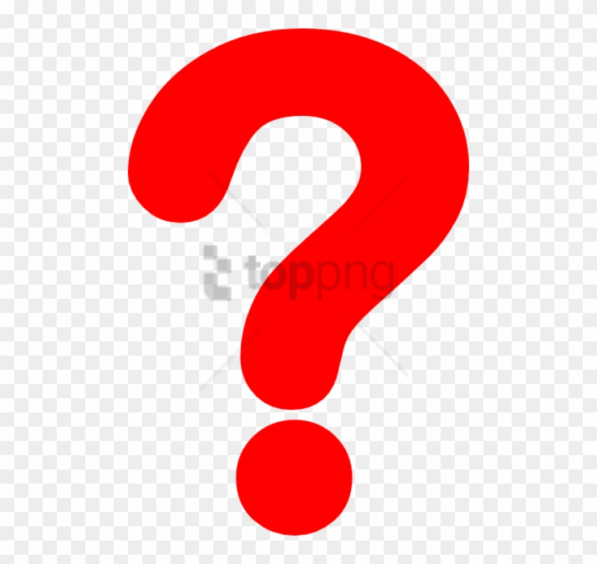 Free Png Red Question Mark Png Png Image With Transparent Png