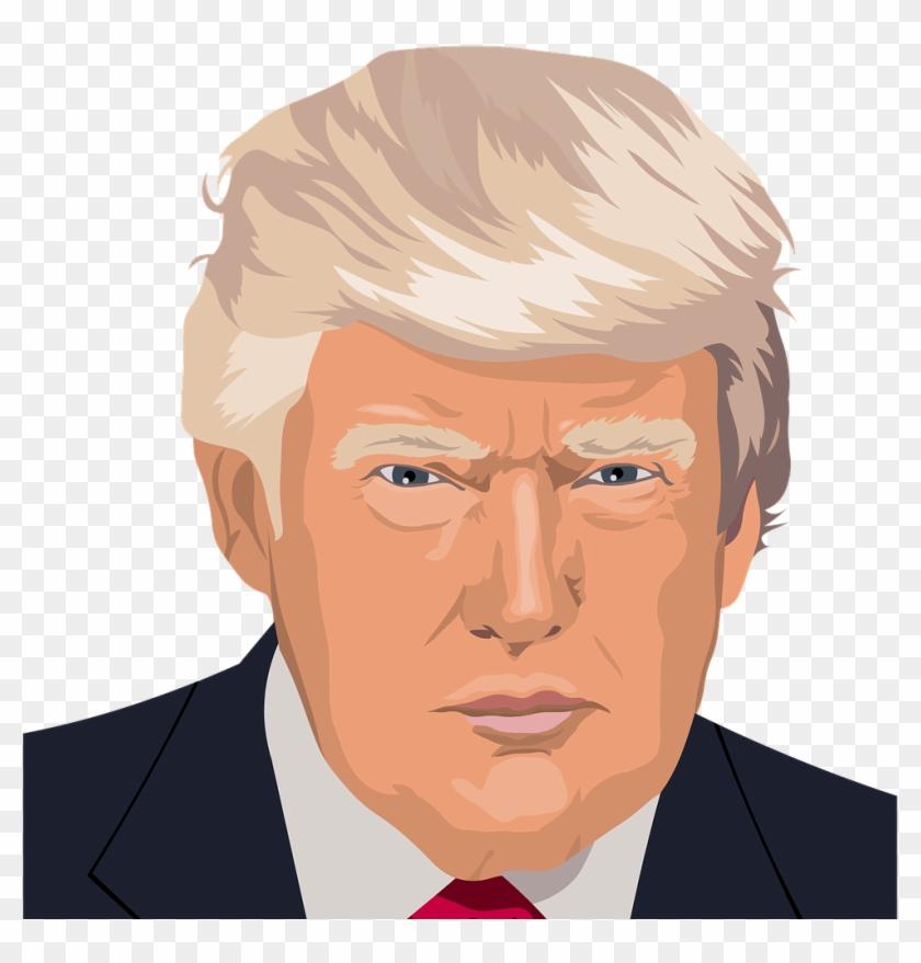 Donald Trump Kiss Art Clipart #2214928