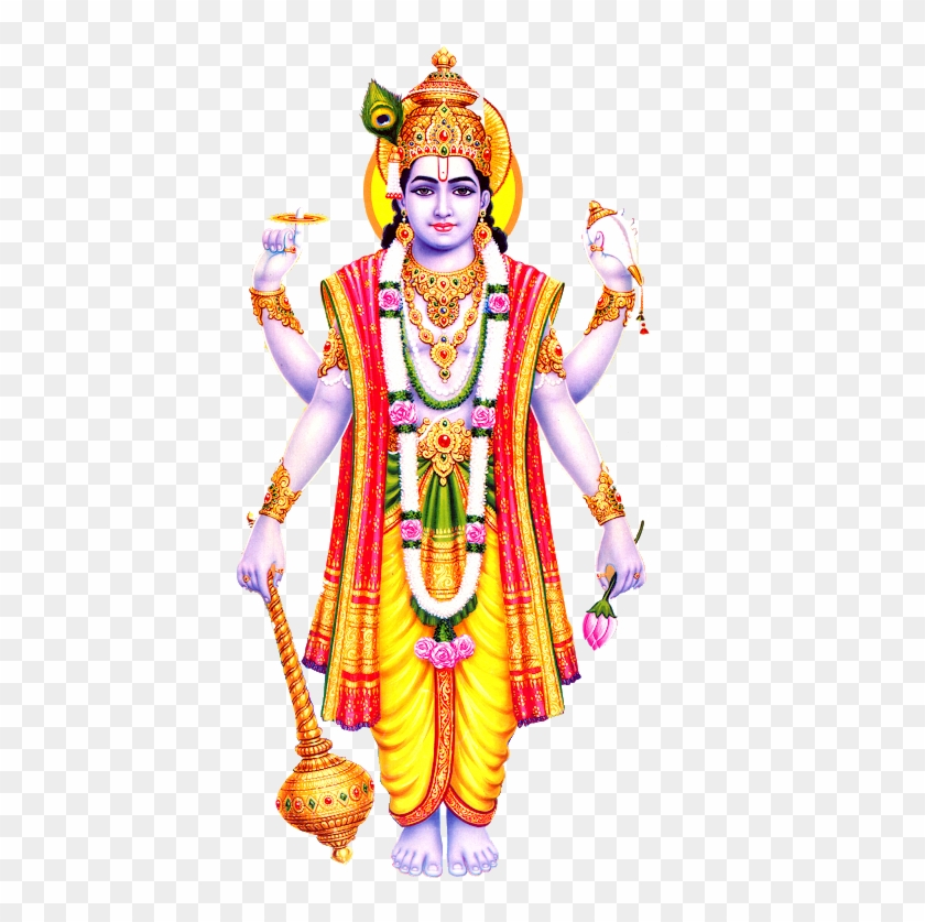 Vishnu Bagwan Hd Png Images Free Downloads - Vishnu Hindu God Clipart@pikpng.com