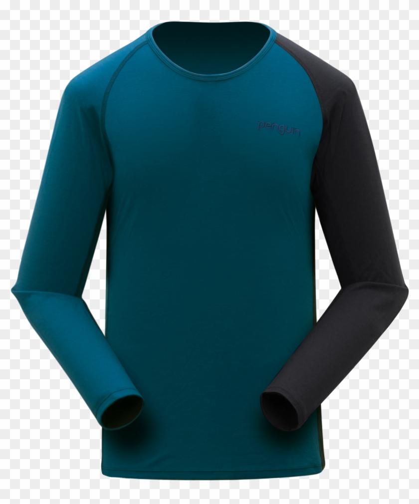 Men - Long-sleeved T-shirt Clipart #2222492