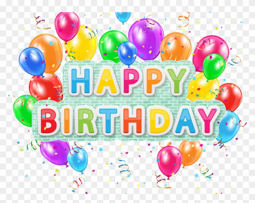 Download Happy Birthday Clipart For Her - Happy Birthday Clip Art Png Transparent Png #2227615