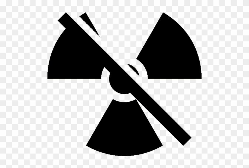 Radiation Icon - Radioactive Symbol Svg Clipart #2236967