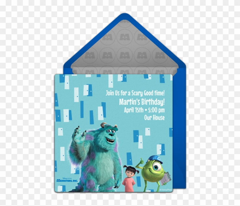 Online Invitation - Sully Monsters Inc Clipart #2237225