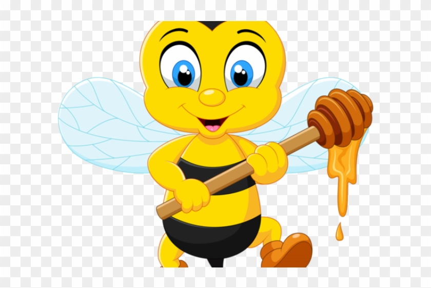 Bee, Bee Clipart, Honey Bees, Honey PNG Transparent Clipart Image and PSD  File for Free Download   Bee art, Bee pictures, Cartoon bee