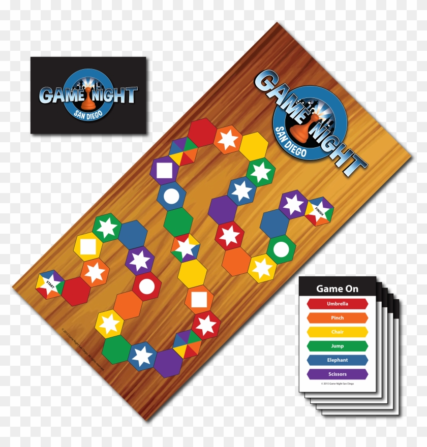 Game Night San Diego Example Of Board Game Clipart 2240686 Pikpng